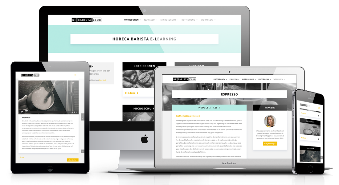 Horeca Barista e-learning